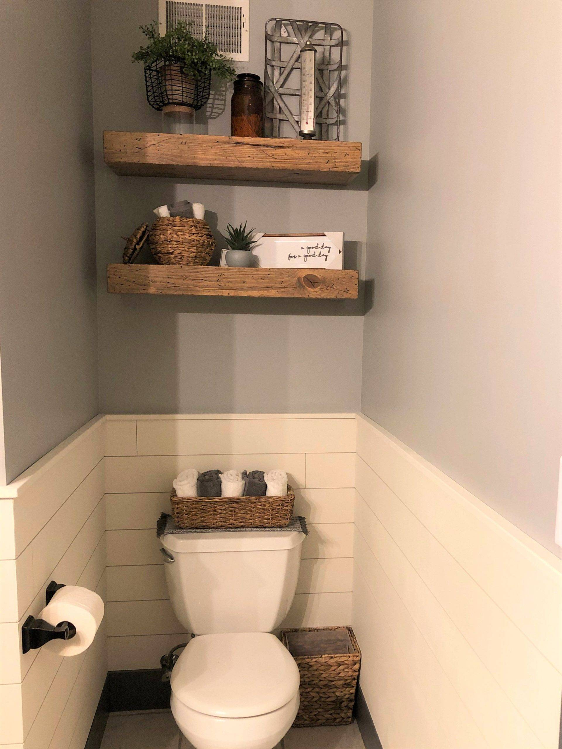 Floating Bathroom Shelves