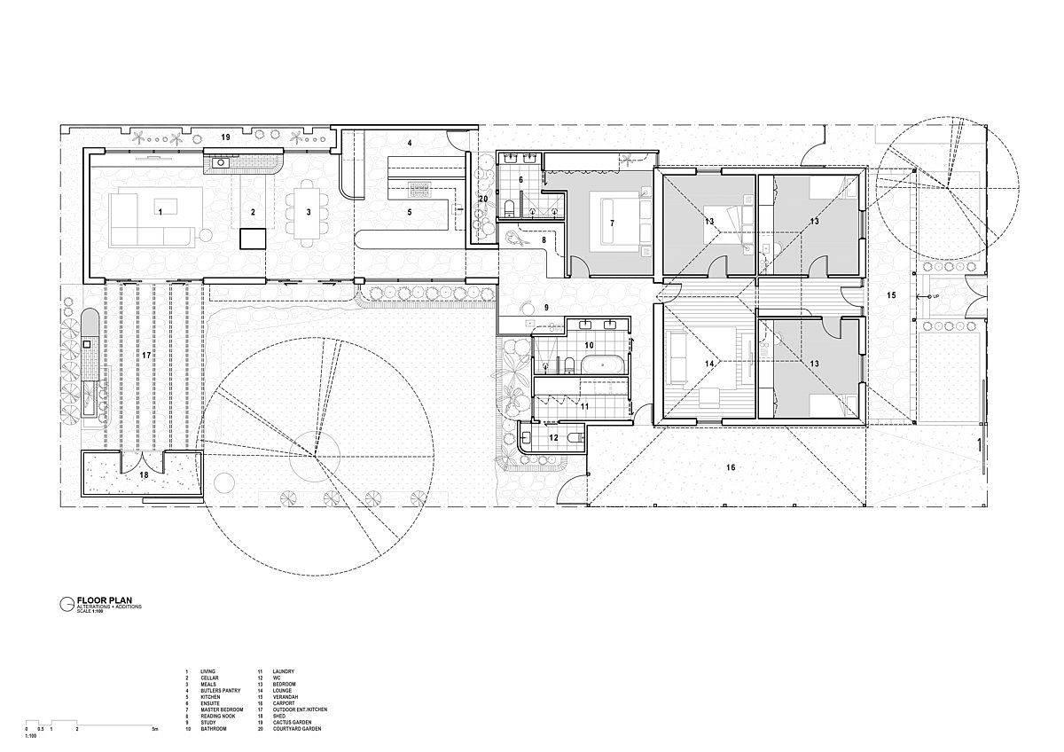 Floor plan of Goodwood House designed by RAD-Studio
