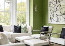 Grasscloth-wallcovering-in-green-for-the-spacious-living-room-with-white-trims-47571-217x155