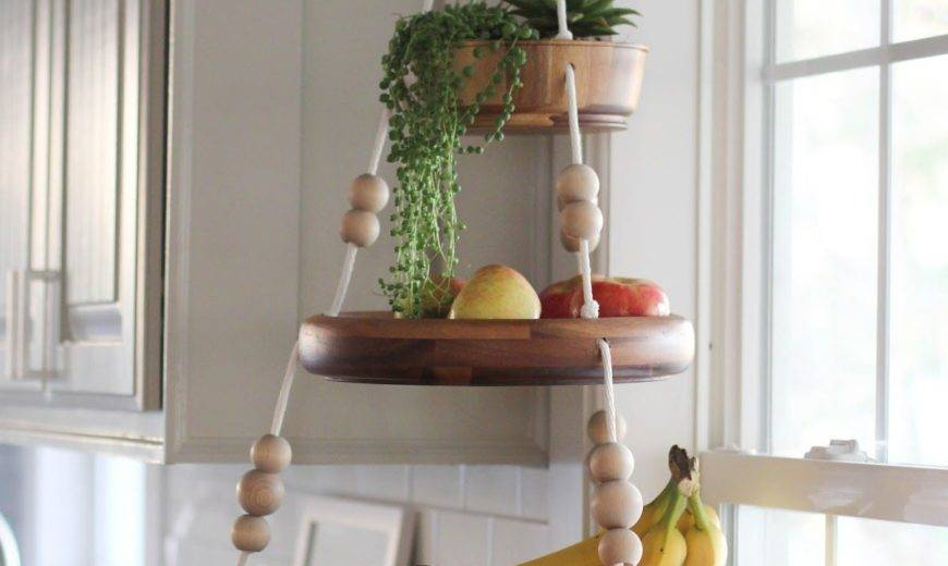 Smart Fruit and Vegetable Storage Ideas for a Decor-Lover's Kitchen