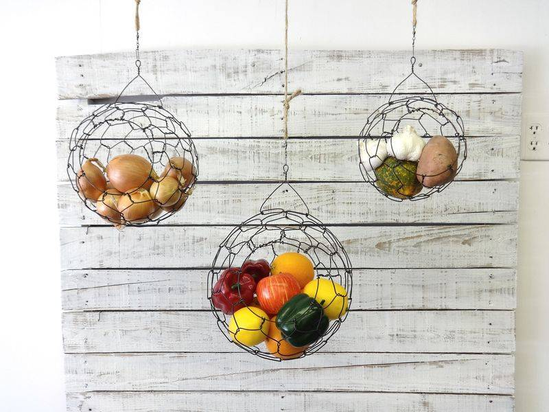 Hanging Fruit Baskets