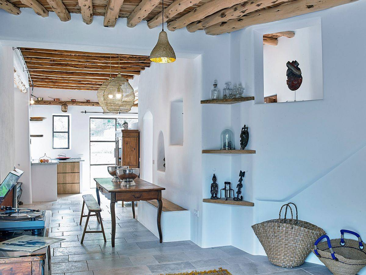 Light-bluish-tint-of-the-walls-adds-to-the-charm-of-thi-Modern-Mediterranean-living-room-58940