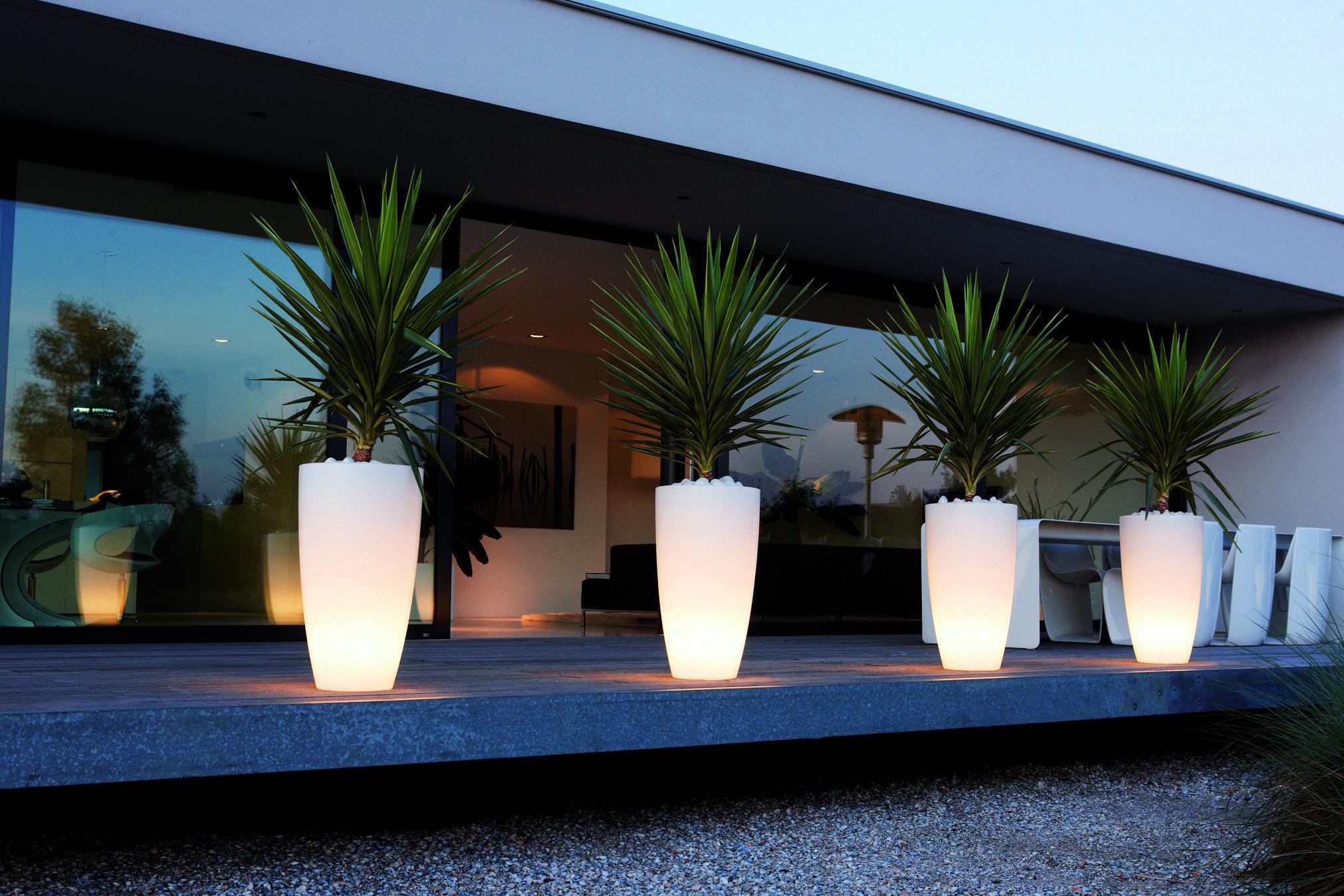Light up Flower Planters
