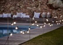 Light bulbs Along with Pool