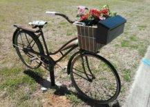 Mailbox on Bicycle