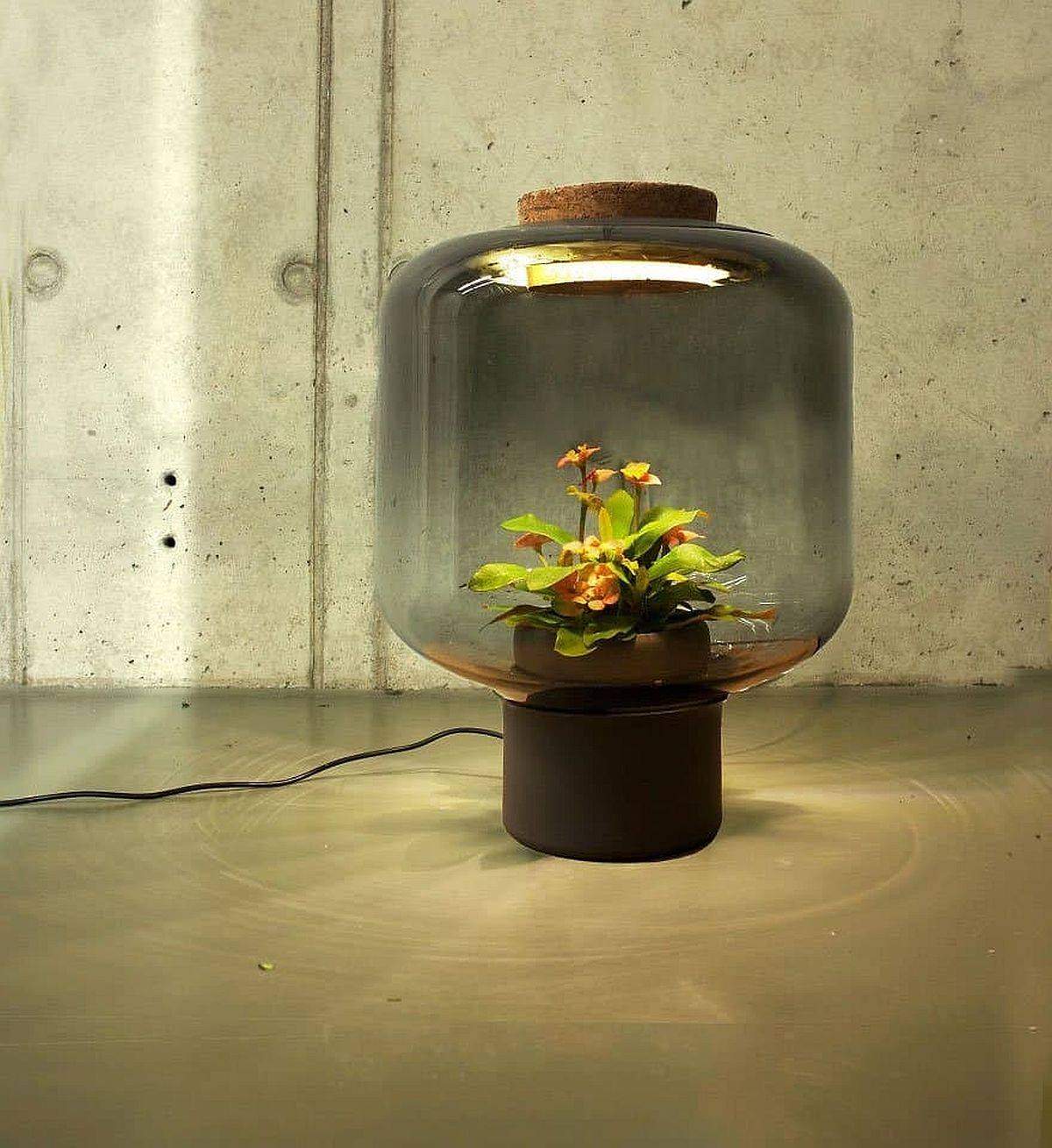 Mygdal Plantlights also serve you well as a fashionable floor lamp