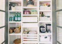 Neat pantry shelving ideas