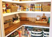 Pantry full of foods and essentials