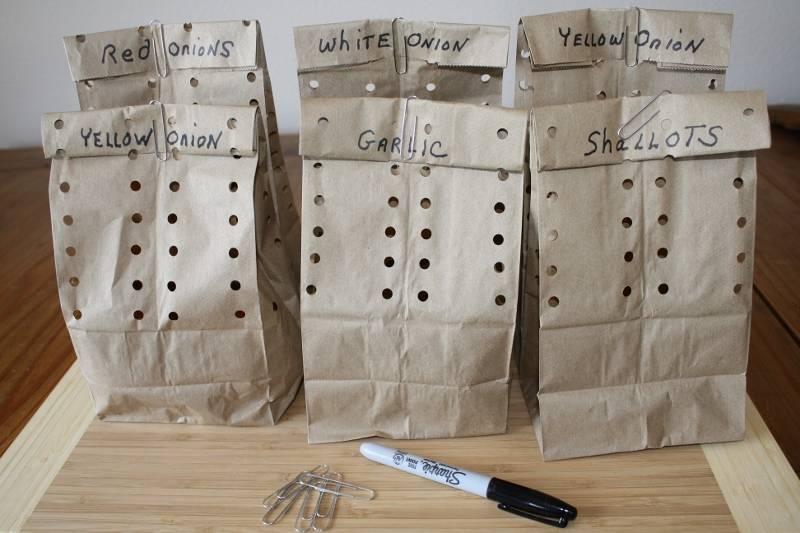 Perforated Brown Paper Bags