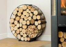 Round Storage Rack