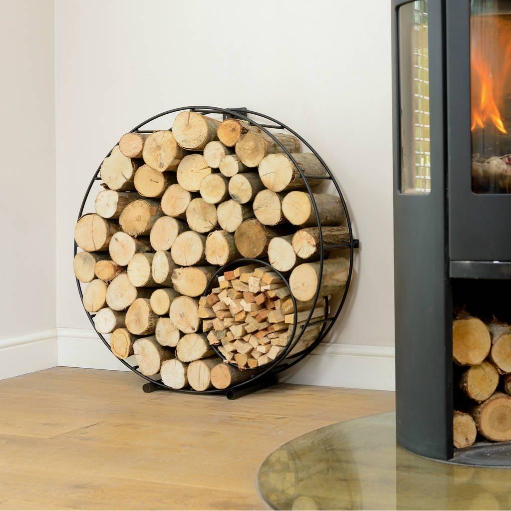 Modern DIY Firewood Racks: Stay Warm in Style