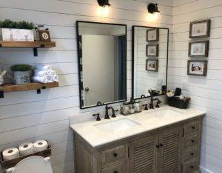 Charming Farmhouse Bathroom Decor [13 Simple & Sweet Ideas!]