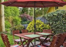 Simple Table Umbrella Shade