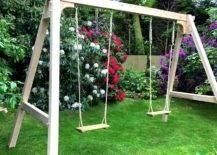 Swings in the Garden