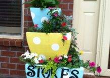 Tiered Flower Pots