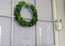 Upcycled Window Frame Towel Hanger