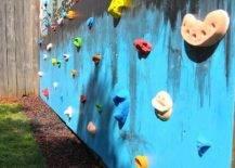 Wall climbing mural