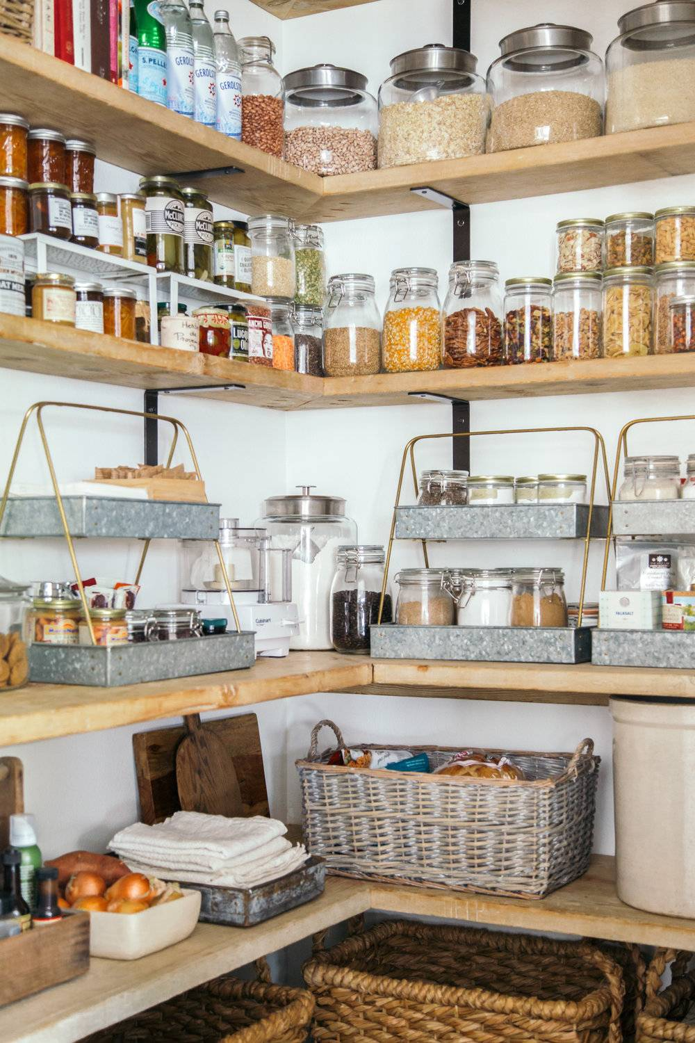 Well organized pantry