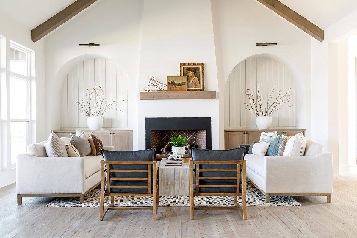 Wood-panelling-accent-sections-add-a-unique-textural-charm-to-this-white-farmhouse-style-living-space-28411