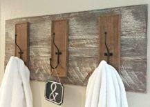 Wooden Hanging Hook Slab