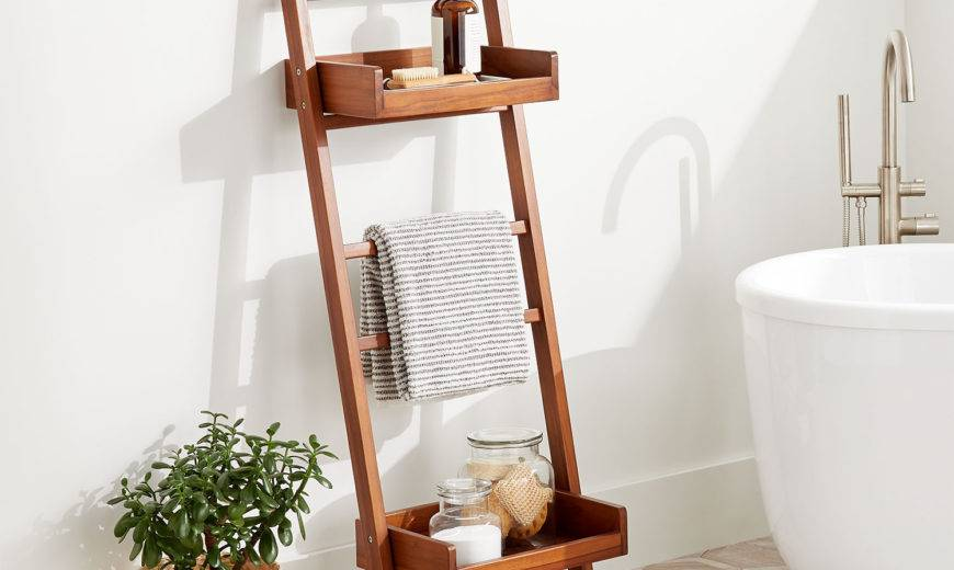 Smart and Chic Bathroom Towel Storage Ideas