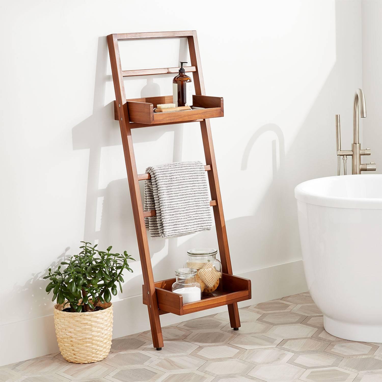 Smart and Chic Bathroom Towel Storage Ideas [10 Options!]