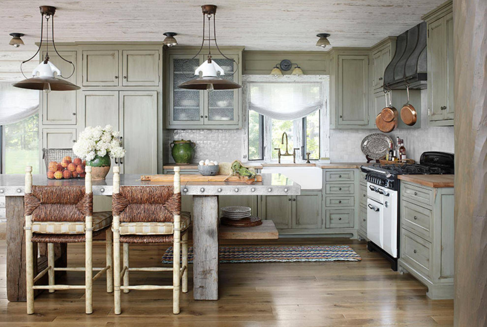 Traditional Rustic Kitchen Farmhouse Chic Decor