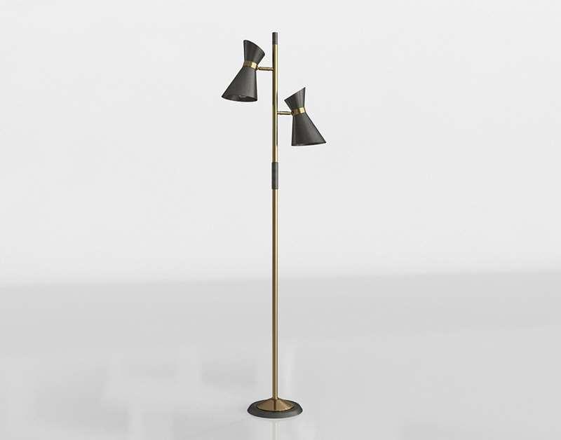 "Bryce 63"" Tree Floor Lamp"