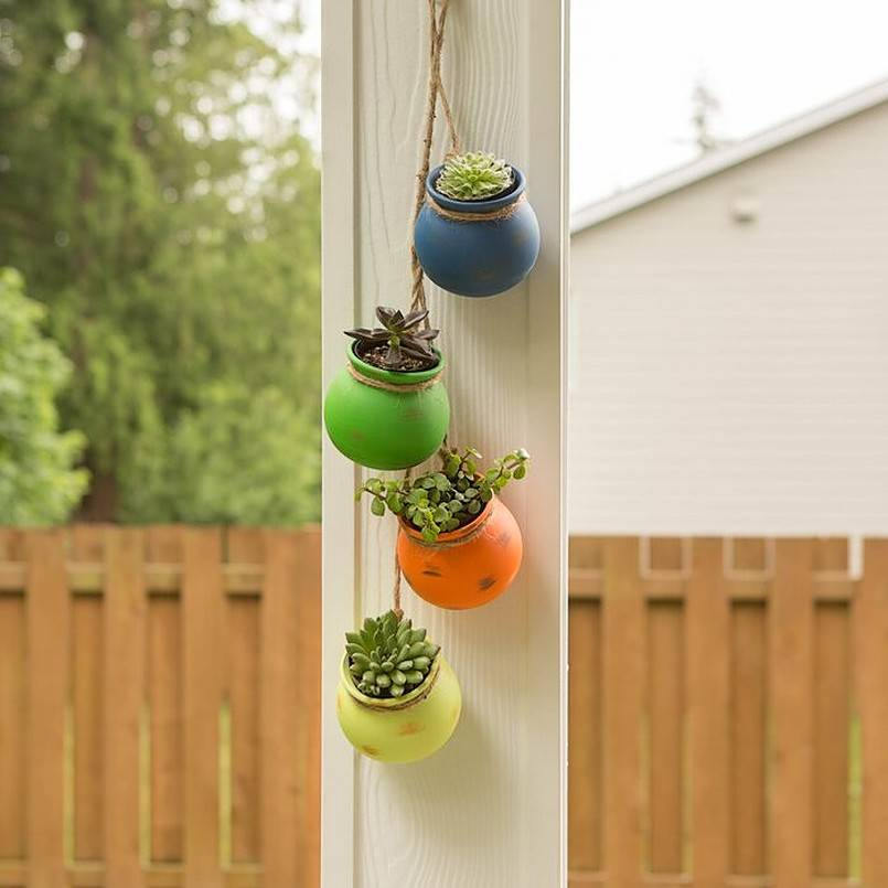 Outdoor Hanging Decor that Adds Playfulness to Any Backyard