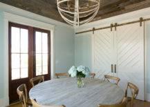 Contrasting Wood in Ceilings.