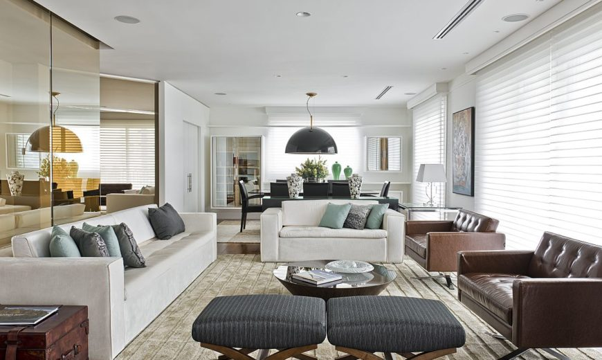 Apartment Bronze: Curated Contemporary Home with Pops of Bright Color