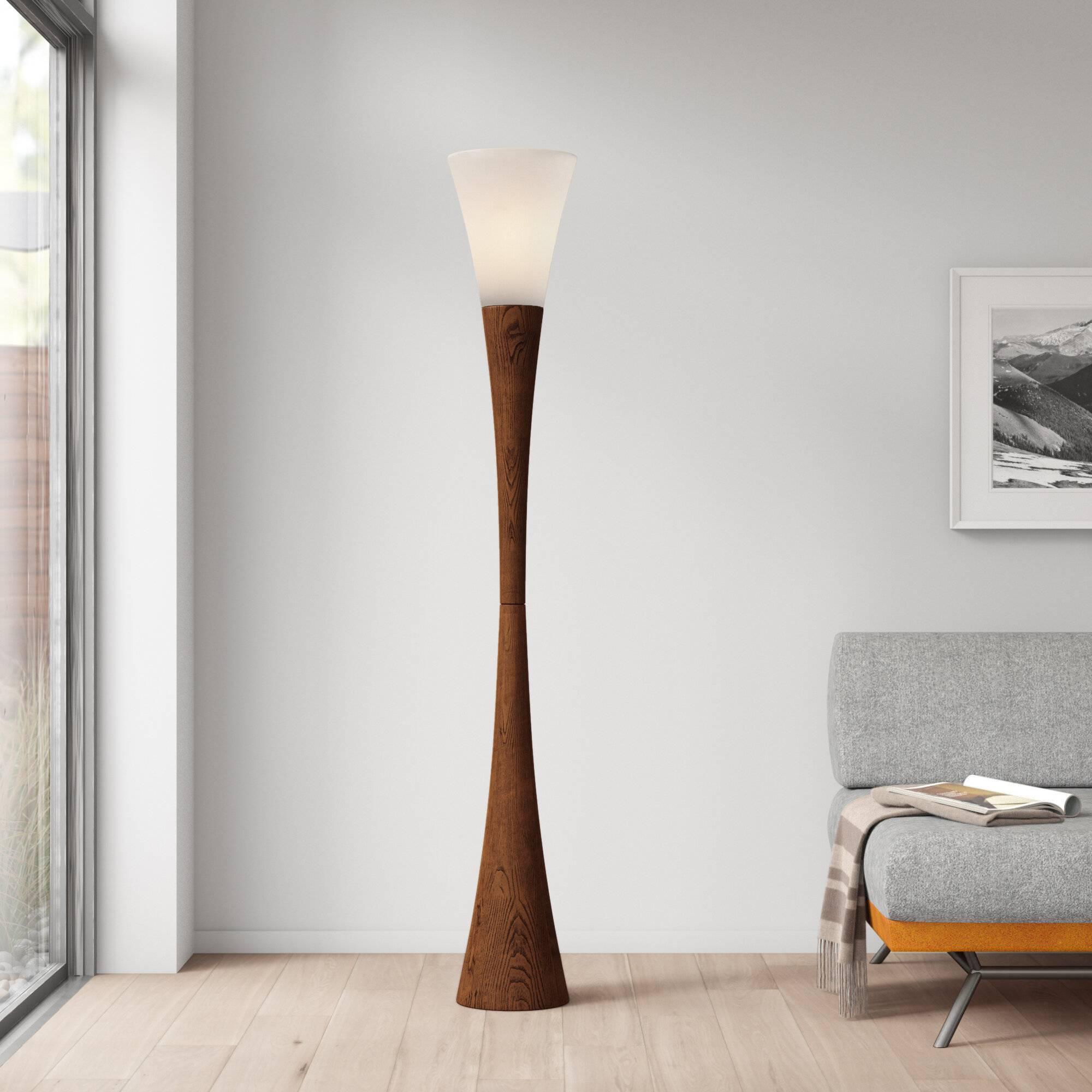 Heanor 68 Column Floor Lamp