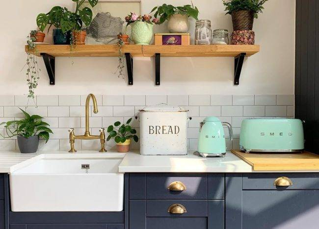 1.Introduce Color with Living Greens