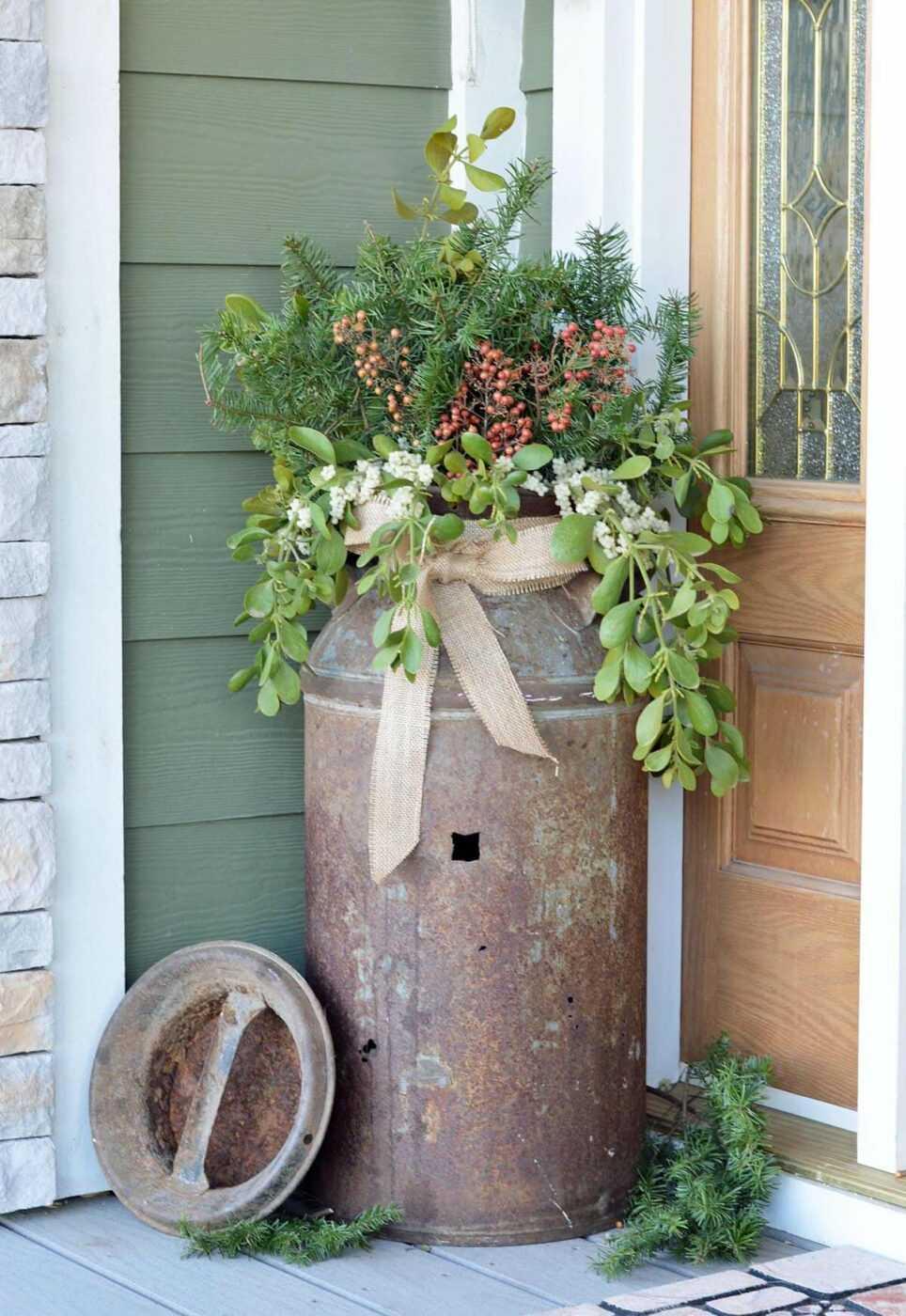 Large Rustic Plant Pot