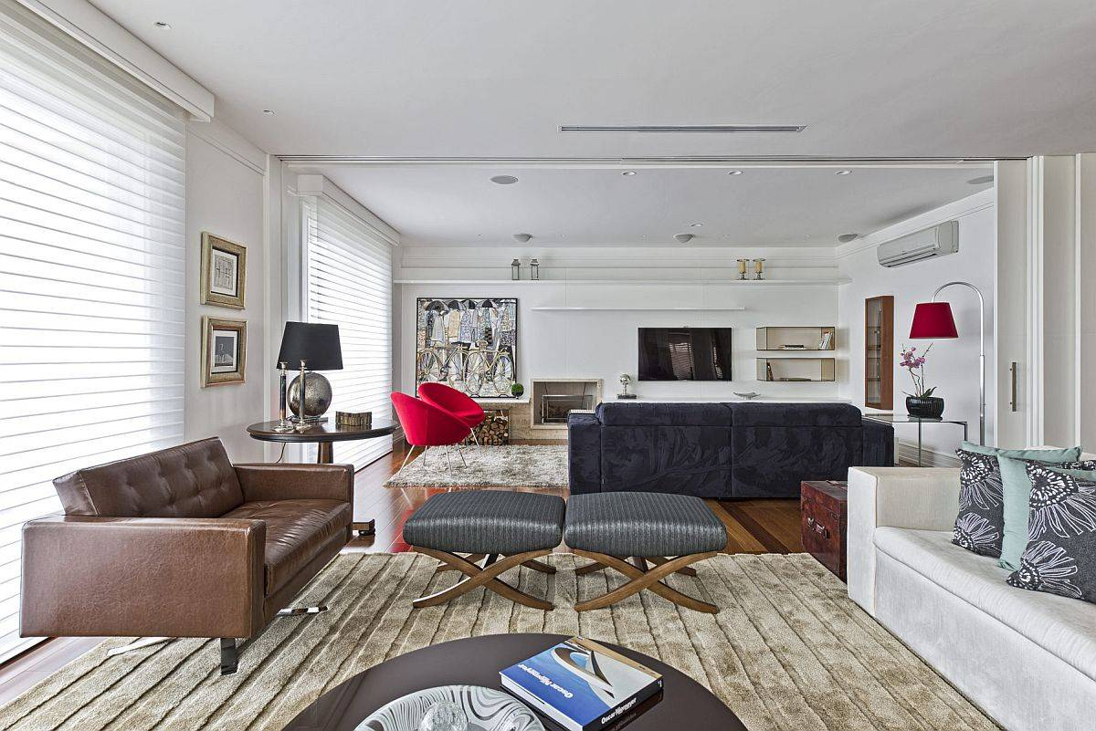 Living-area-and-family-room-of-modern-home-in-neutral-hues-with-brilliant-pops-of-red-and-blue-70664