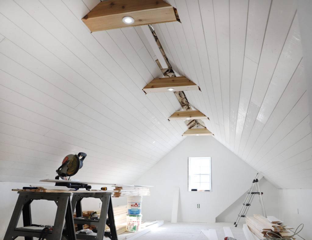 Long Planks in Ceilings
