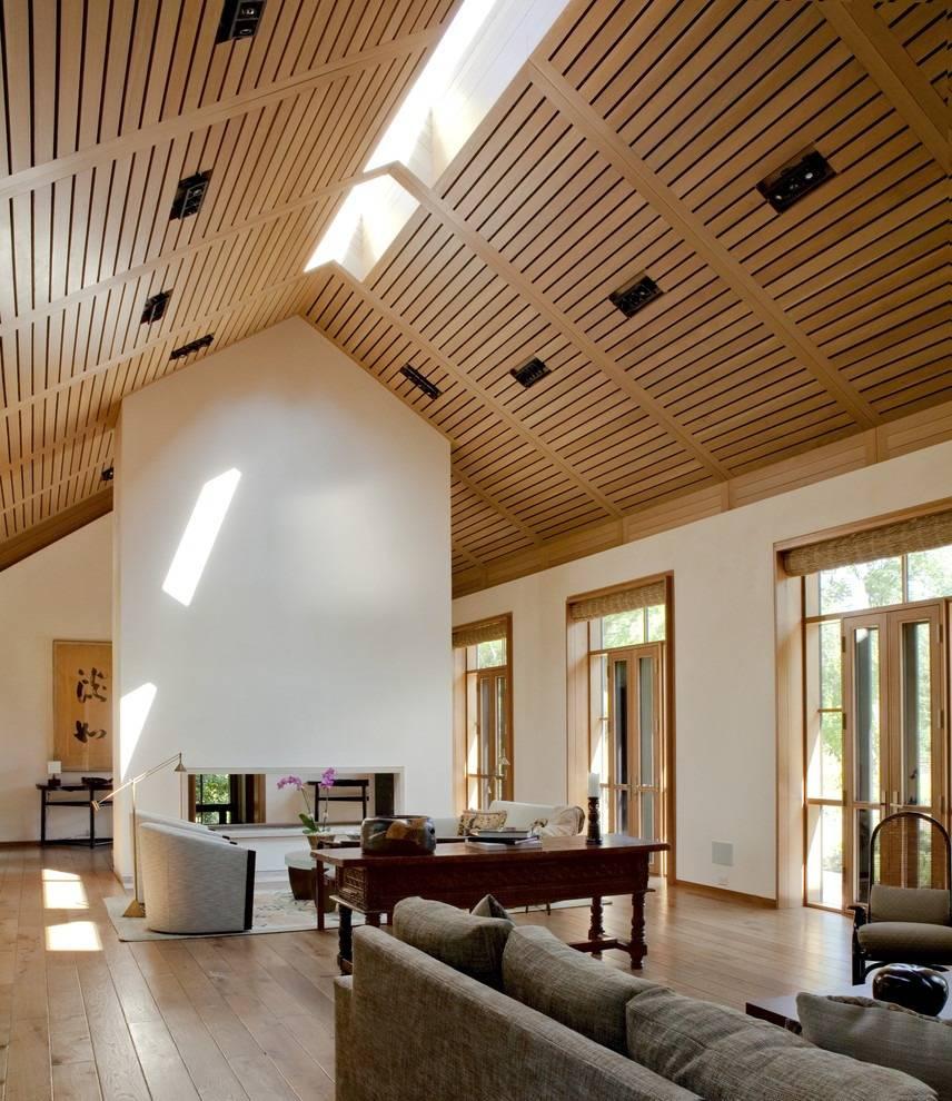 Long Planks in Ceilings.
