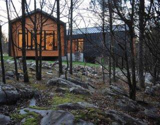 Holston River House: Ingenious Residence on a Rocky Landscape in East Tennessee