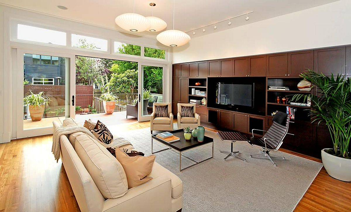 Stylish-living-room-with-custom-entertainment-and-storage-unit-with-midcentury-goodness-50486