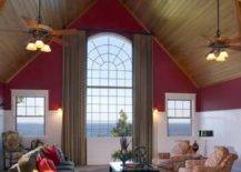 Tall and Pointed Ceilings
