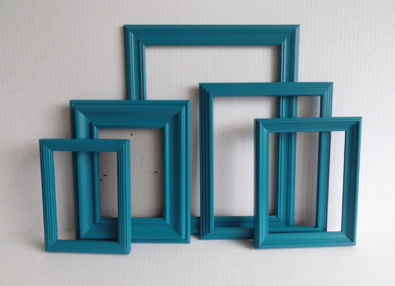 Teal Wall Frame