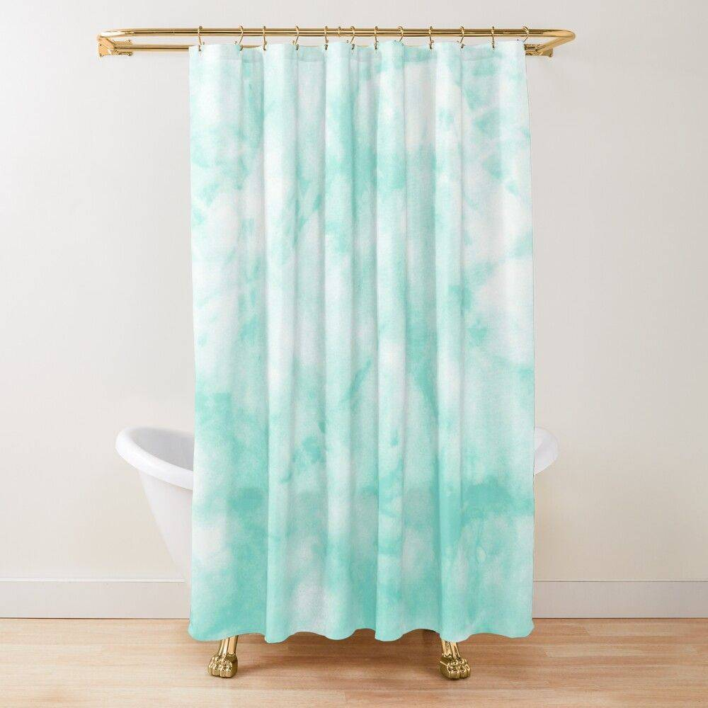 Tie and Dye Curtain