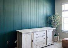 Vertically Installed Shiplap Wall