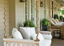 White Porch Swing Bed