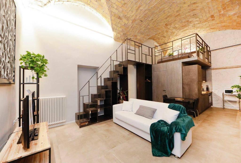 industrial style loft apartment