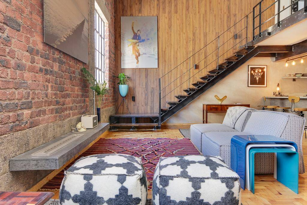 new york eclectic style loft