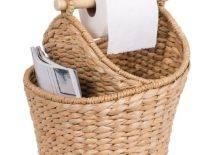 Basket Bathroom Magazine Holder