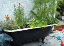 Bathtub and Sink planter