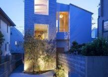 Beautifully-illuminated-entry-of-the-modern-Japanese-home-23840-217x155