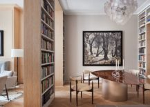 Bookshelves-from-floor-to-ceiling-surround-this-contemporary-dining-area-while-also-creating-doorways-34865-217x155